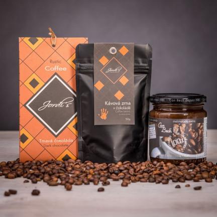 Set jedinečných kávových delikates