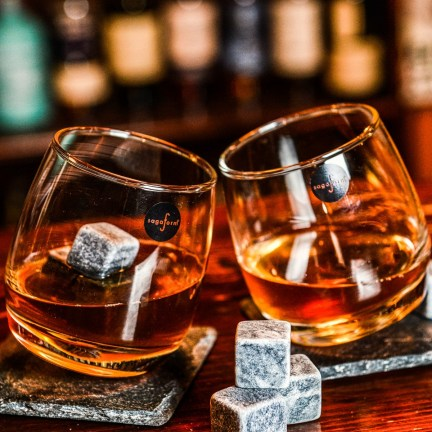 Sada houpacích sklenic na whiskey Sagaform 6 ks