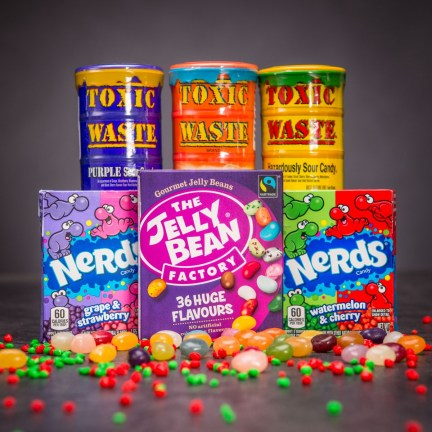 Set originálních bonbonů v různých příchutích
