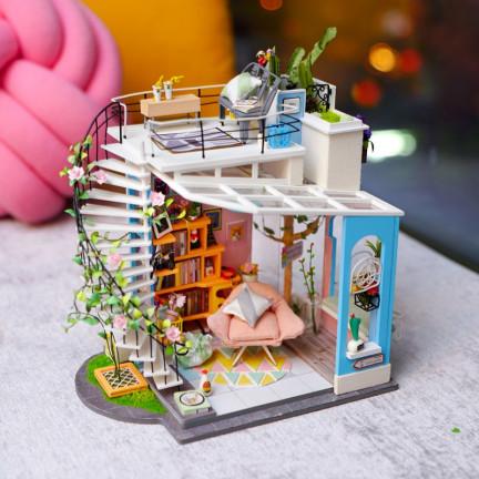 DIY model Dořina loftového bytu