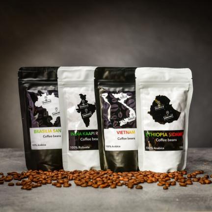 Káva z rodinné pražírny – 4 druhy