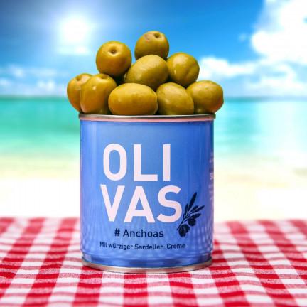 Tři druhy vynikajících španělských oliv